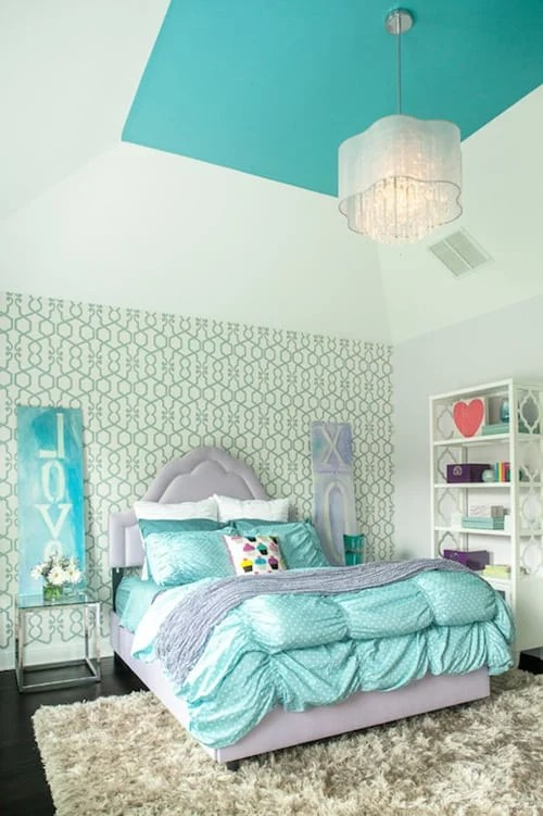 Turquoise And Purple Room Ideas Novocom Top