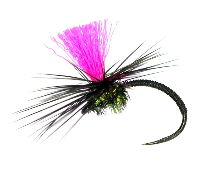 Black Magic Dry Fly - Blackfly