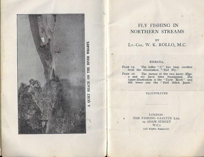 W.K. Rollo's book