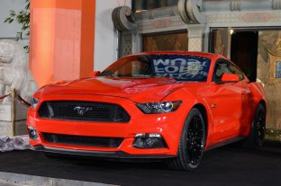Ford Mustang Los Angeles Debut
