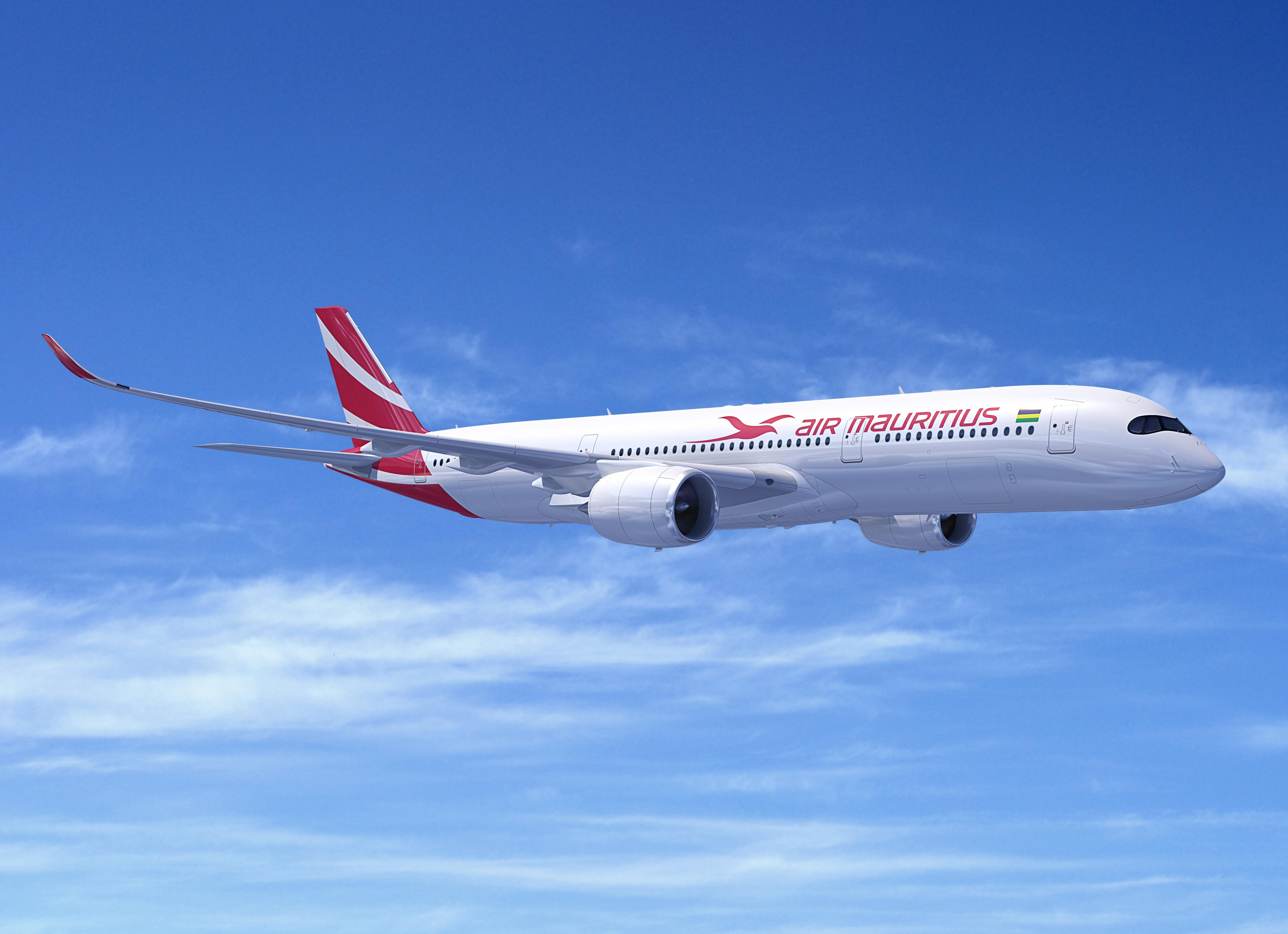 Air Mauritius A350XWD - www.smademedia.com