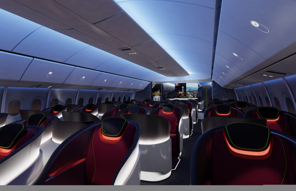 Boeing Decides Key Elements of 777X Passenger Experience