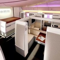 First Class Suites On Board China Eastern Airlines Boeing 777-300ER