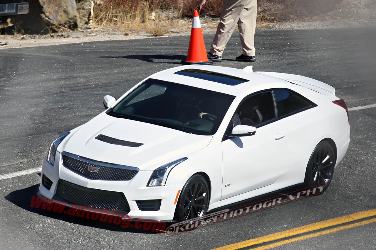 Photo of [SPIED] Cadillac ATS-V Coupe