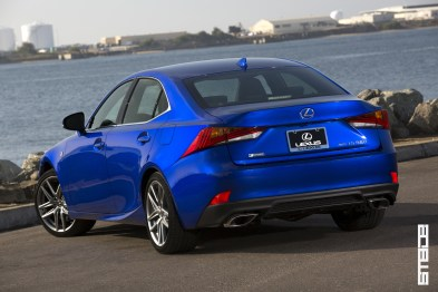 The IS 350 F Sport packs a 3.5-liter V6 that produces 306 hp and 277 lb.-ft. of peak torque. The RWD model uses the eight-speed Sport Direct Shift automatic transmission that brings agile handling. A multi-link rear suspension inherited from the GS sedans, along with finely tuned electronic power steering The IS 350 with the F SPORT package also adds Adaptive Variable Suspension (AVS), controlled with SPORT S and SPORT S+ modes. | DISCOVER THE SMADE JOURNAL ON SOCIAL MEDIA | -Facebook @smadejournal -Twitter @smadejournal -Google+ +smadejournal -YouTube @smadejournal -Instagram @smadejournal -Tumblr smademedia.tumblr