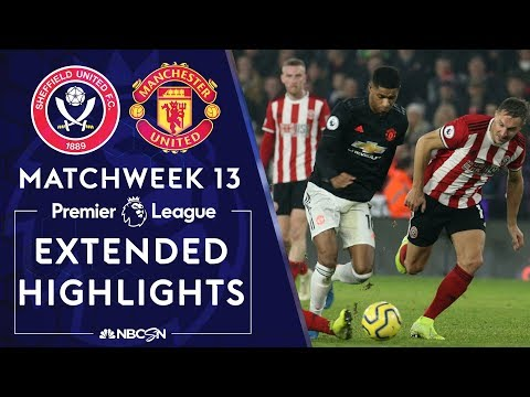 Sheffield United v. Manchester United | PREMIER LEAGUE HIGHLIGHTS | 11/24/19 | NBC Sports