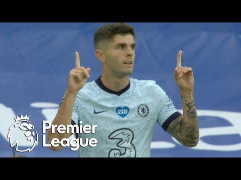 Christian Pulisic stays hot, doubles Chelsea lead v. Crystal Palace | Premier League | NBC Sports