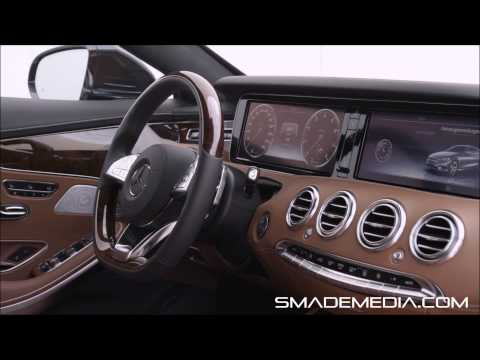 Mercedes-Benz S-Class Coupe Interior inDESIGN Overview – inDESIGN – SMADEMEDIA.COM