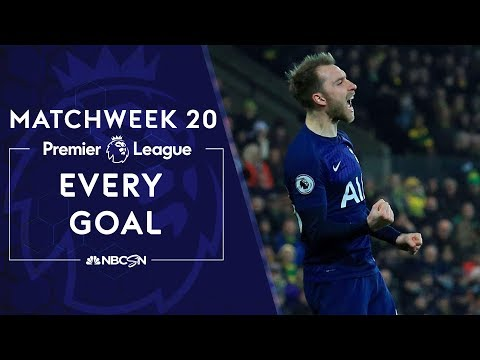 Every goal from Matchweek 20 in the Premier League | NBC Sports