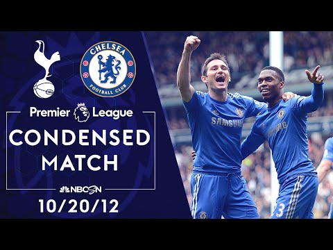 Premier League Classics: Tottenham v. Chelsea | CONDENSED MATCH | 10/20/12 | NBC SPORTS