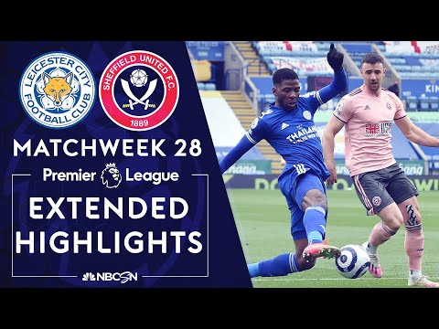 Leicester City v. Sheffield United   PREMIER LEAGUE HIGHLIGHTS   3/14/2021   NBC Sports
