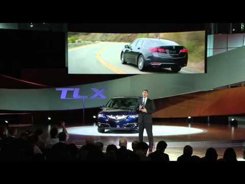 Acura – Introducing the 2015 TLX – New York Auto Show
