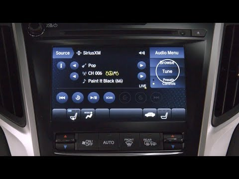 SiriusXM Tuning and Presets