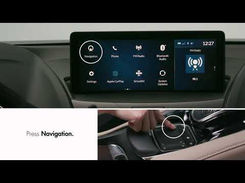 How to use navigation with the touchpad