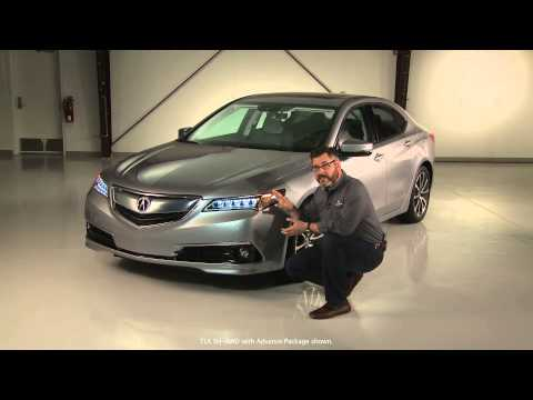 Acura – 2015 TLX – Exterior Style Features