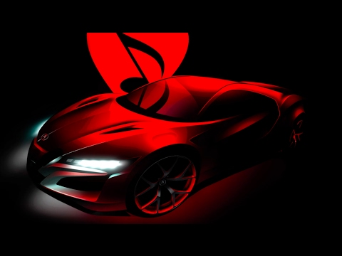 Acura – NSX – MusiCares Car of the Year