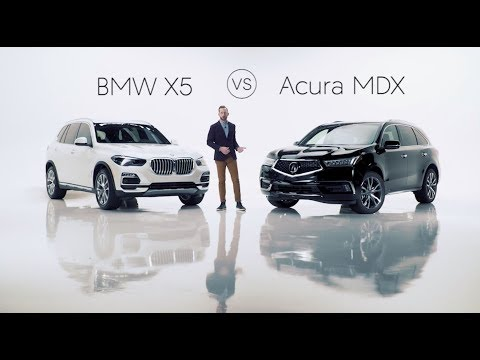 2019 BMW X5 Road Test & Review vs. the 2019 Acura MDX