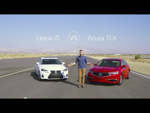 Lexus IS 300 vs Acura TLX – Video Review Comparison