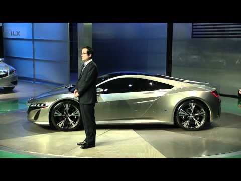 Acura – NAIAS in Detroit Press Conference (2 of 3) – The NSX