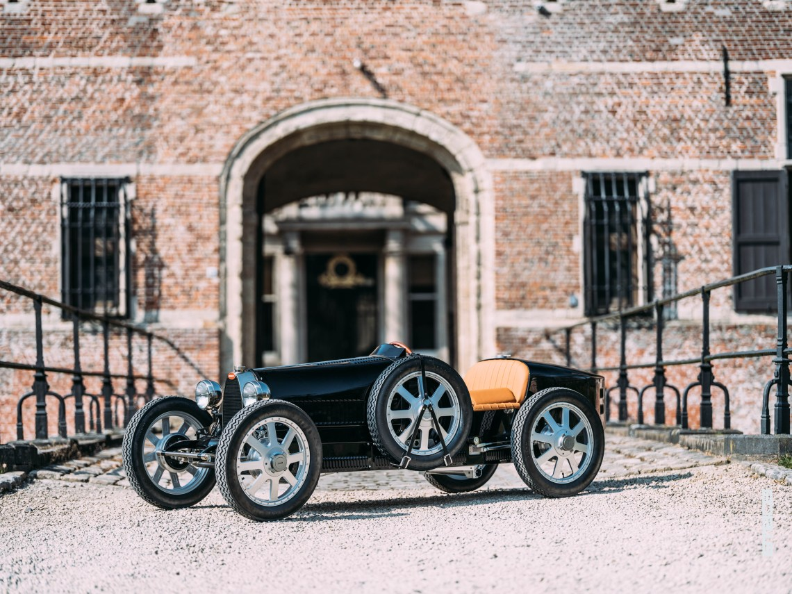 Bespoke Bugatti Baby II - The Little Car Company - inDesign -(4)- THE SMADE JOURNAL