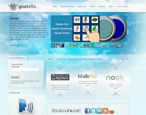 Goatella Website Screenshot