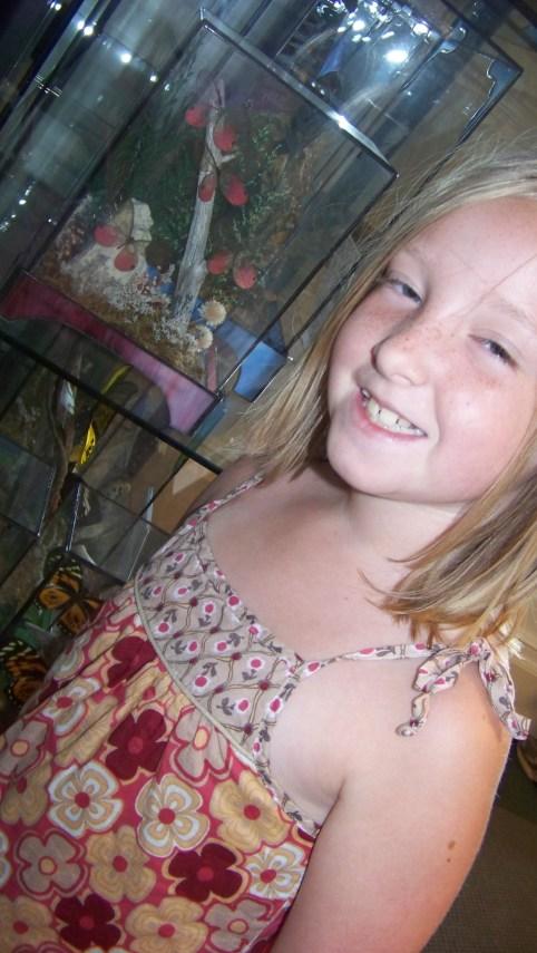 butterflies that match Anna's dress!
