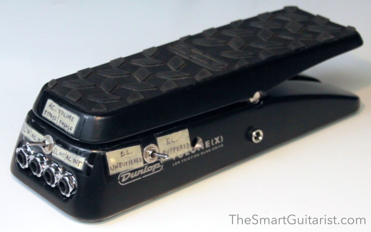 Dunlop Volumex Mod Conversion To Stereo With Buffer The Smart Re Wah Pedal Circuits Guitarist