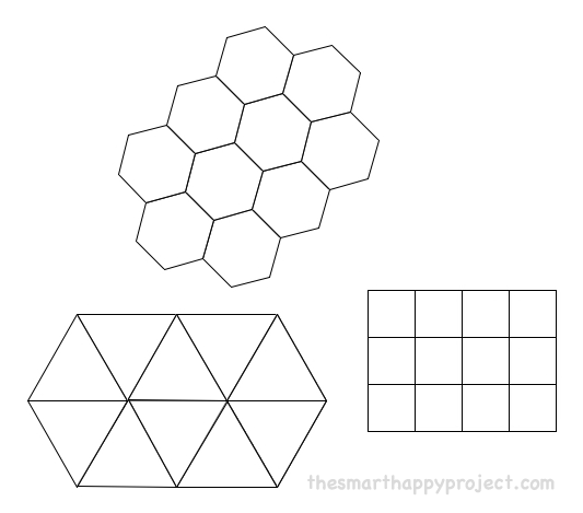 Hexagon geometry in snowflakes - The Smart Happy Project