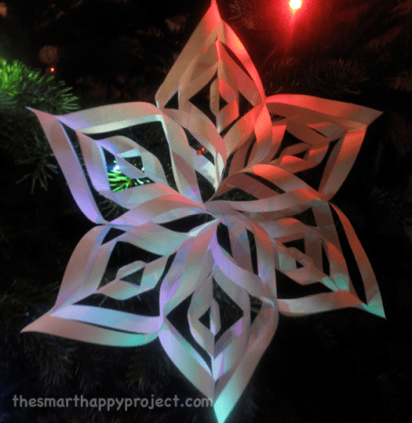 easy, paper snowflakes to make