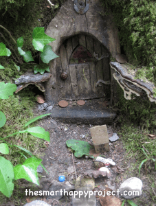 fairy house in rineen woods in midsummer