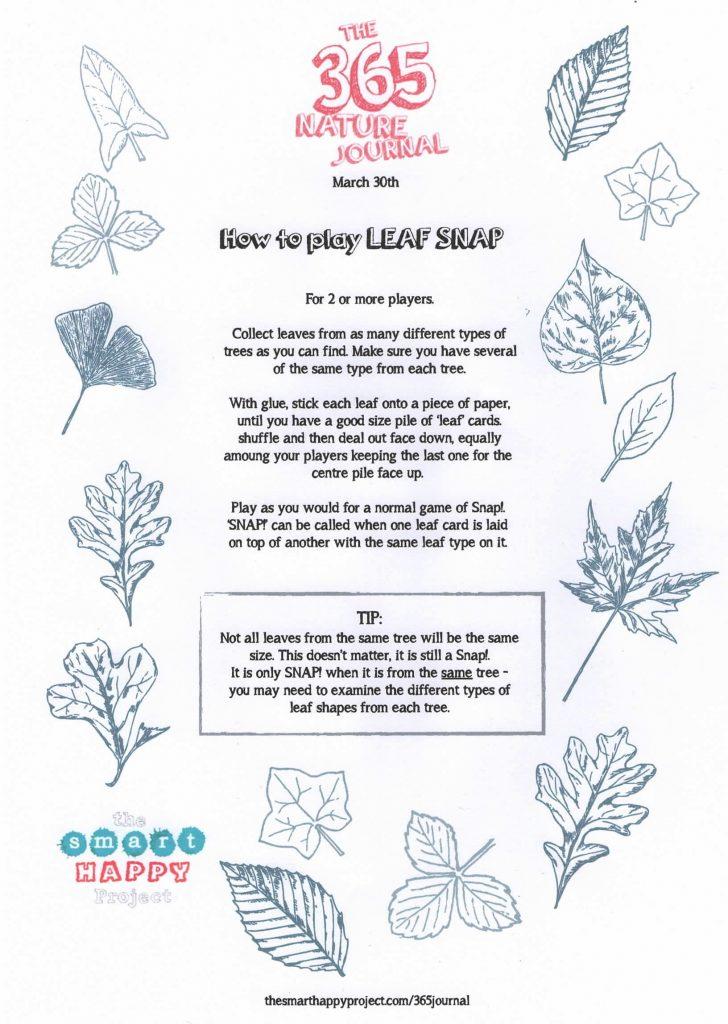 Nature games - Leaf Snap
