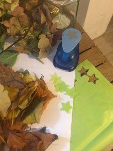 november lantern making