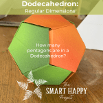How many pentagons in a dodecahedron?