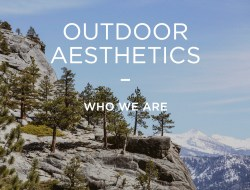 outdoor aesthetics
