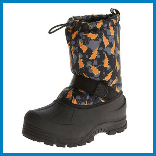 Girls Insulated Snow Boots