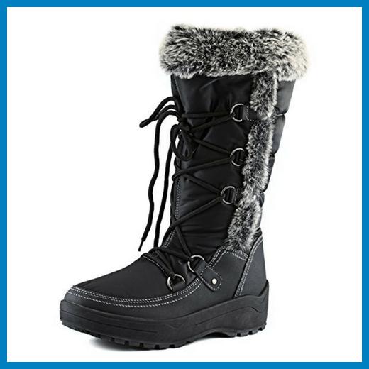 Women's DailyShoes Eskimo Snow Boots