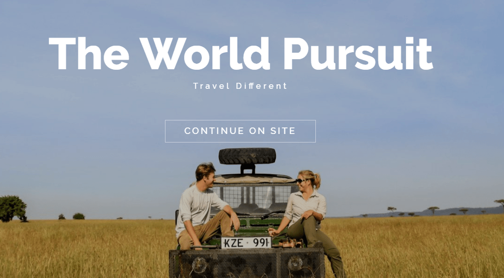 the world pursuit