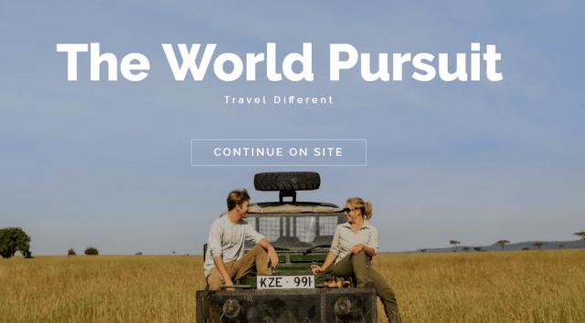 the world pursuit