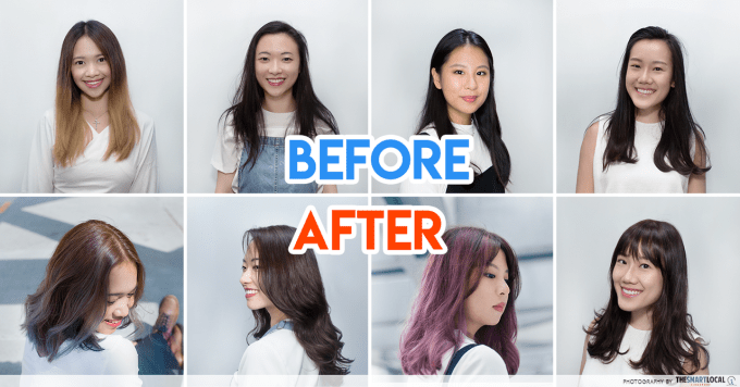 8 complete hairstyle makeovers for singaporean girls on point for