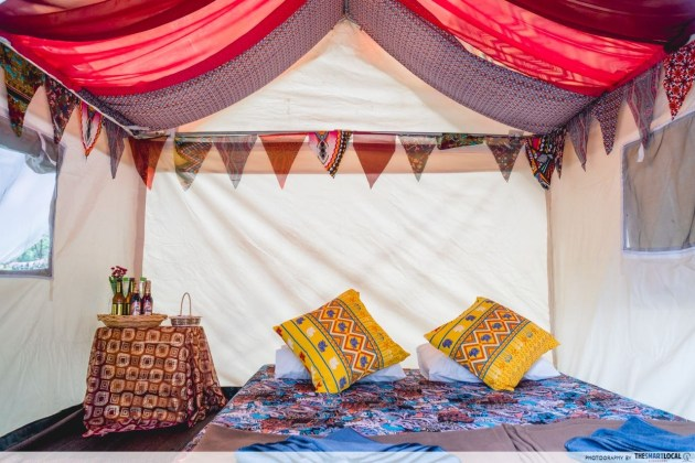 The Sweet Package Tent