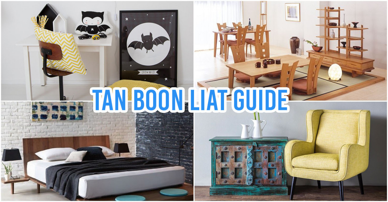 12 Tan Boon Liat Building Furniture Stores To Check Out