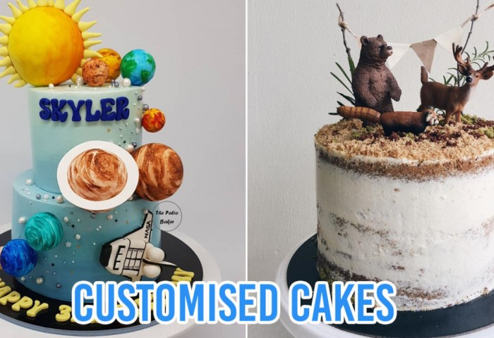 10 Home Bakers In Singapore For Customised Birthday Cakes With One