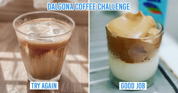 Indonesians Jump On The Dalgona Coffee Bandwagon On Instagram & TikTok, & Many Succeed While Others Hilariously Fail