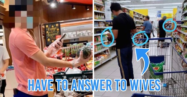 M'sian Man Documents Trip To Supermarket During MCO, Shows Funny Struggles Husbands Are Now Facing
