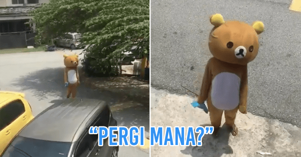 Rilakkuma Spotted In KL Turns Out To Be A M'sian Man Trying To Buy Cigarettes During MCO