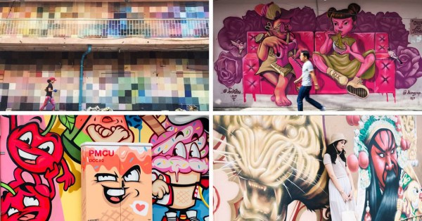 Chula Art Town Is Bangkok's Newest IG Spot With Colourful Murals And Street Art
