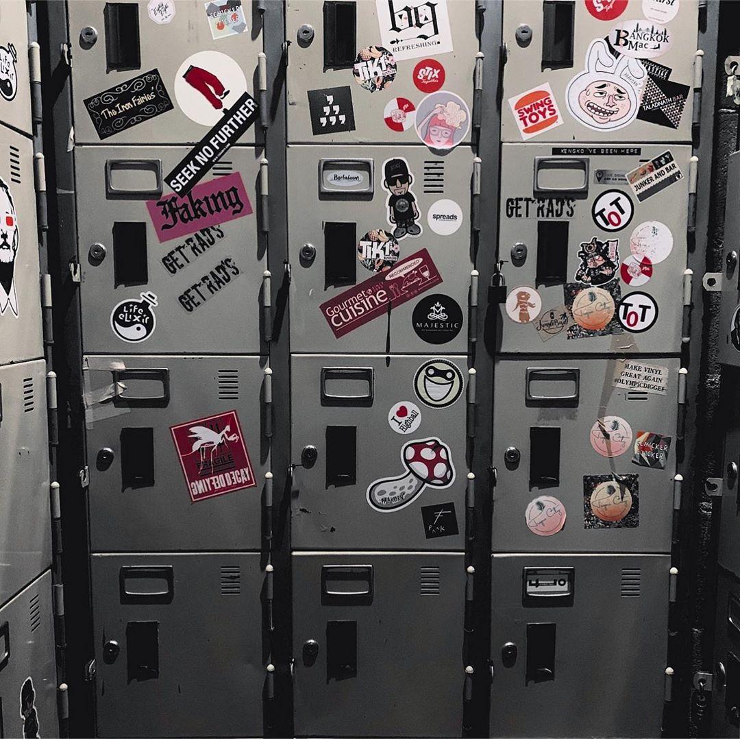 find the locker room