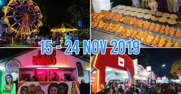 Free Red Cross Festival Returns To BKK With Amusement Park Rides, Shopping, And Street Food