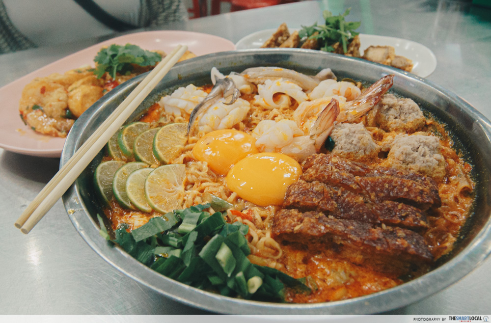 Giant tom yum in Bangkok