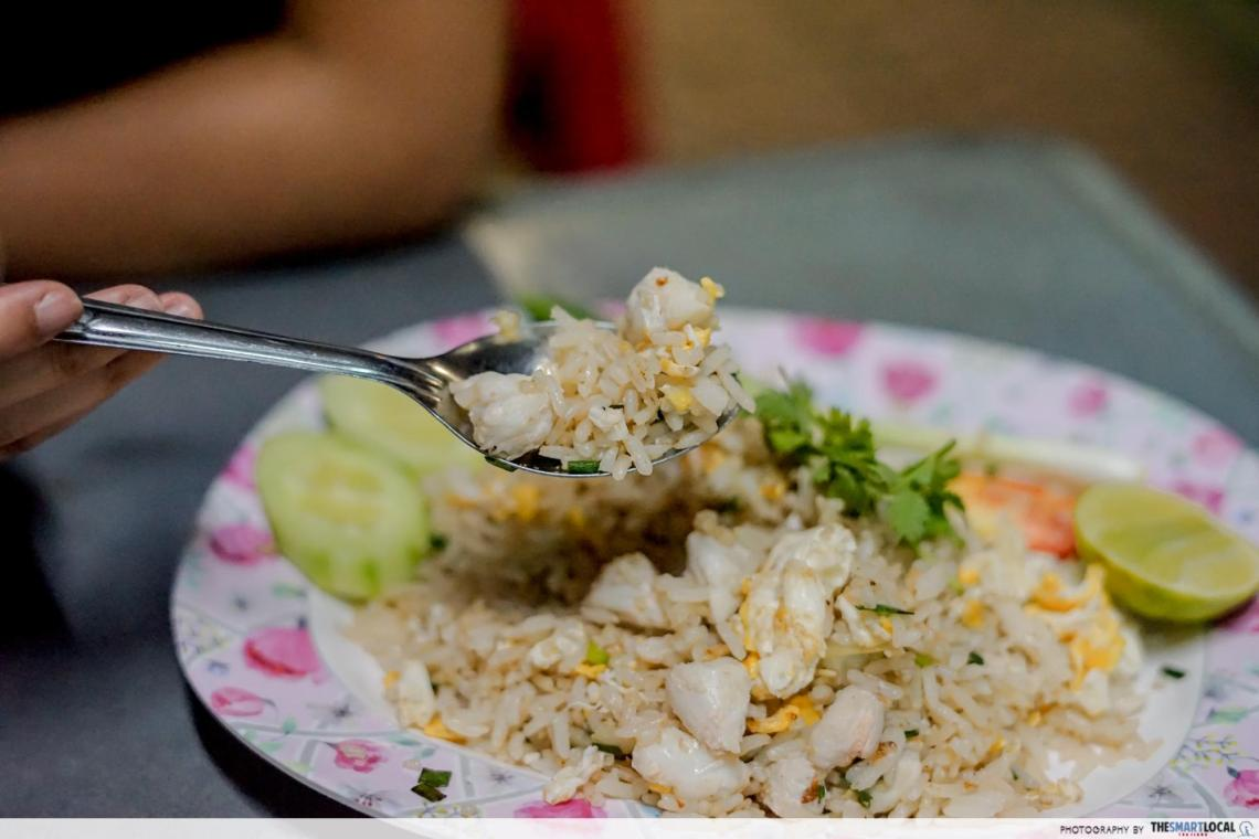 yaowarat crab meat